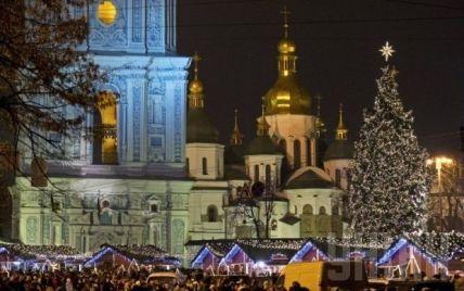 Святкування Нового року на Софійській площі зібрало понад 40 тисяч людей