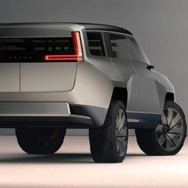 У Мережі з'явилися фото незвичайного люксового позашляховика Volvo