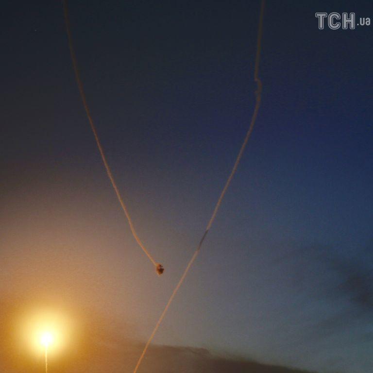 """Одна з ракет ХАМАС пробила """"Залізний купол"""" в ізраїльському місті"""