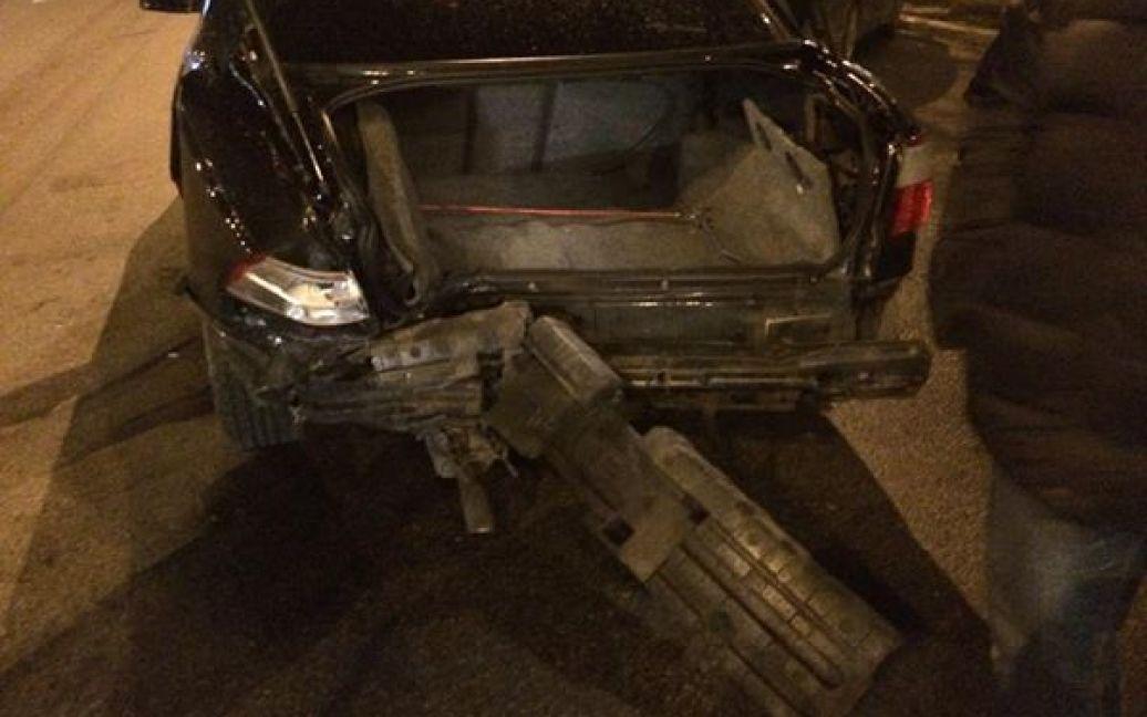 Аварія сталася біля метро / ©