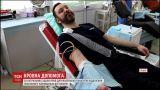 У Львові у День онкохворої дитини копи здали кров для маленьких пацієнтів