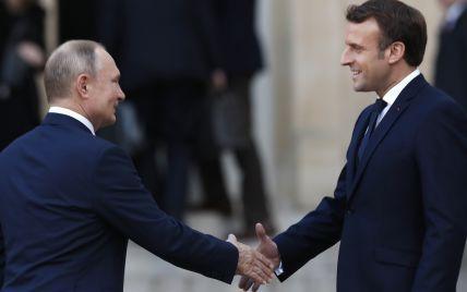 """Франція хоче """"більш довірчих"""" відносин між ЄС і Росією - Макрон"""