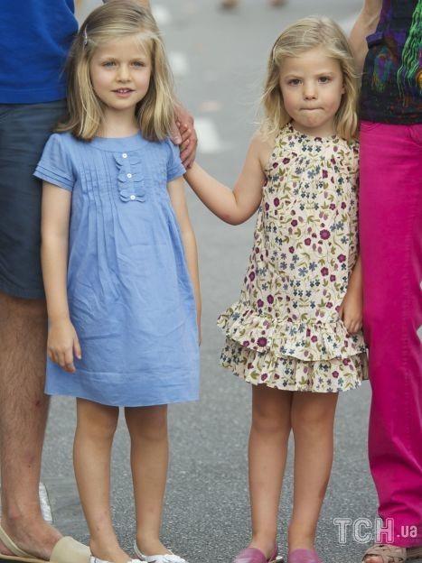 Принцеса Леонор з сестрою Софією / © Getty Images