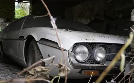 В Великобритании нашли уникальную Lamborghini, которая простояла в сарае более 30 лет