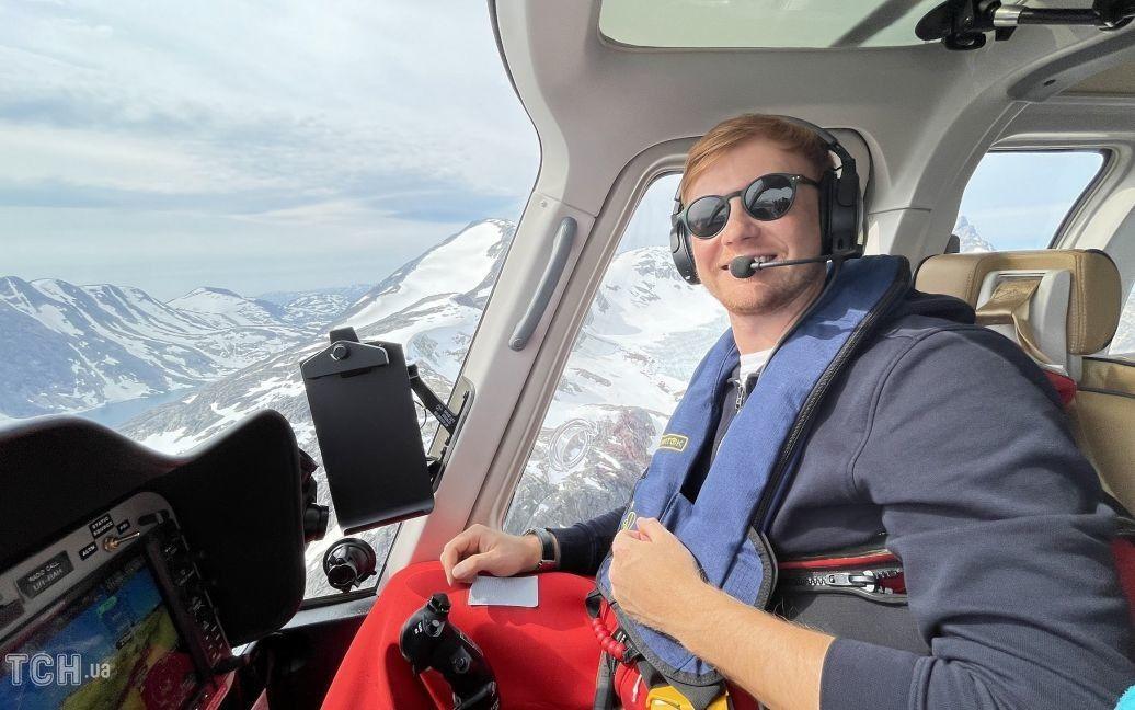 трансатлантический перелет на вертолете / ©