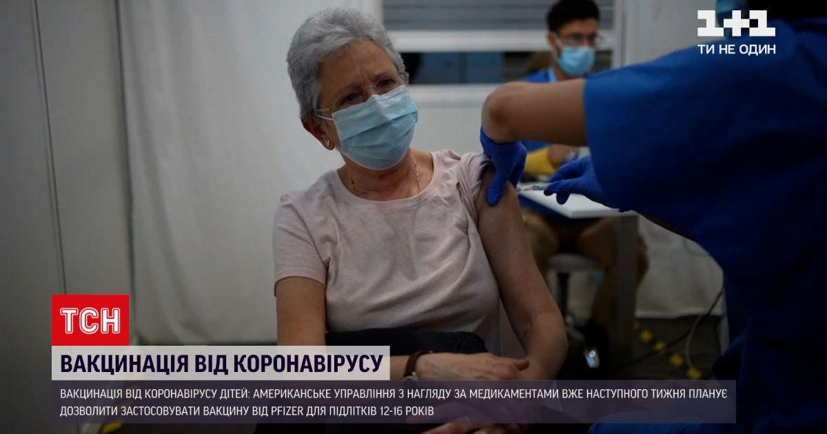 """Новини світу: чи дозволять вакцинувати """"Пфайзером"""" підлітків"""