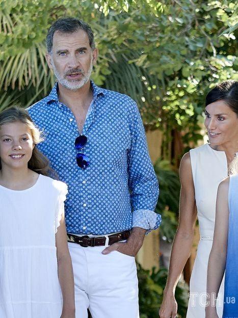 Принцеса Леонор з сім'єю / © Getty Images
