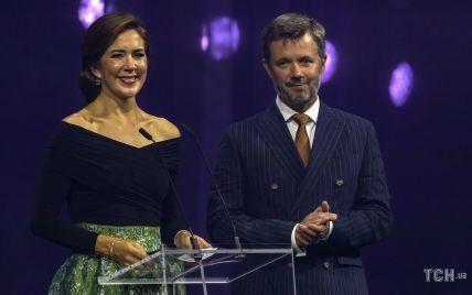 Одягла вбрання від H&M: данська кронпринцеса Мері вручила особливу нагороду