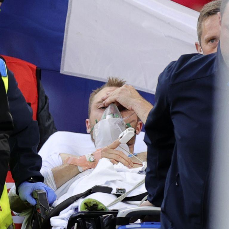 """""""Бодрствует и отвечает четко"""": врач рассказал о состоянии Эриксона, жизнь которого спасли во время матча Евро-2020"""