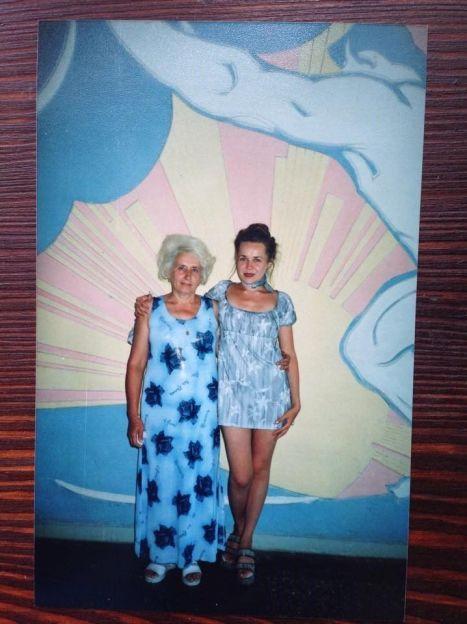 Таня Гончарова с мамой Таисией Павловной / ©