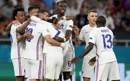 Франція- Швейцарія - 3:3 Онлайн-трансляція матчу 1/8 фіналу Євро-2020