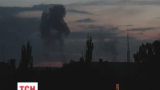 В Донецке после нескольких сильных залпов произошел взрыв на заводе химических изделий