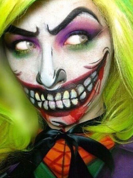 Макияж для Хэллоуина/Инстаграм / ©