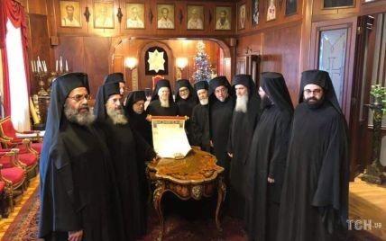 Все члены Синода Вселенского патриархата подписали Томос для Украины