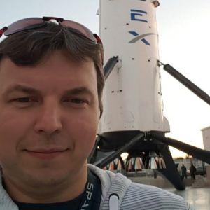 Інженер з Житомира брав участь в історичному запуску SpaceX Ілона Маска: космічна історія українця