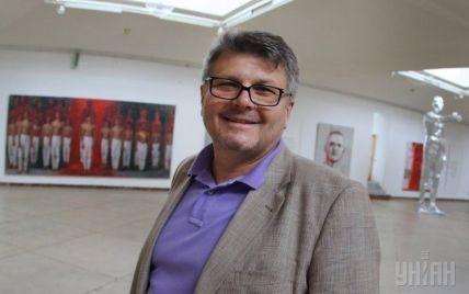 Самый богатый украинский скульптор Олег Пинчук предлагает учредить Львовский биеннале