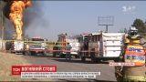 Невдала спроба вкрасти паливо завершилася масштабною пожежею трубопроводу