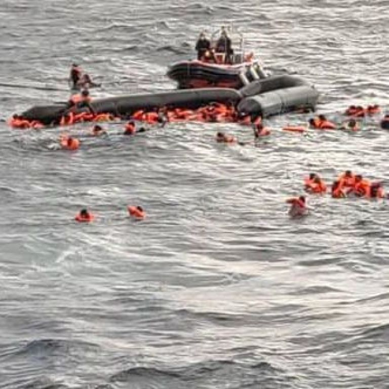 В Середземному морі затонув човен з мігрантами: є загиблі, постраждали вагітні та діти