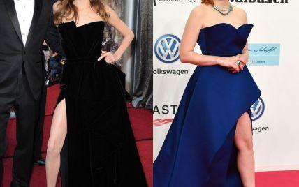 Однією лівою: Джессіка Честейн вирішила повторити успіх правої ноги Анджеліни Джолі