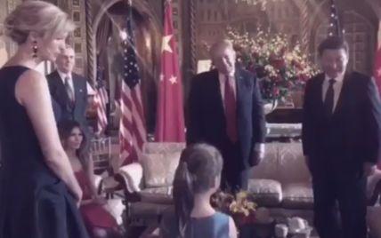 Внуки Трампа спели Си Цзиньпину на китайском языке во время первой встречи лидеров США и Китая
