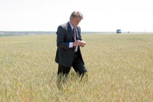 Президент піклується про врожай