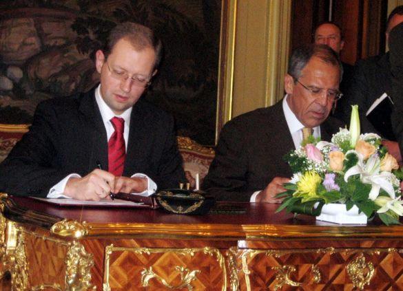 Яценюк і Лавров