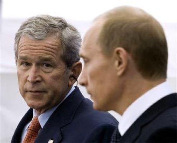 Буш і Путін
