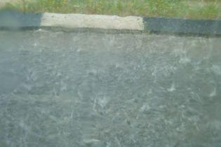 В Івано-Франківській області сильні зливи