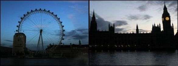 Лондон у пітьмі