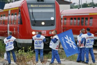 Німецька залізниця може зупинитися
