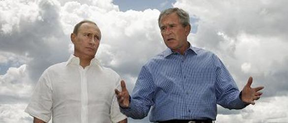 Путін Буш