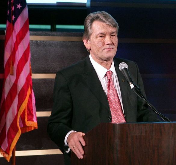Віктор Ющенко в США