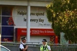Британські супермаркети закрили через погрози
