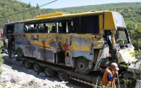 Аварія в Алушті