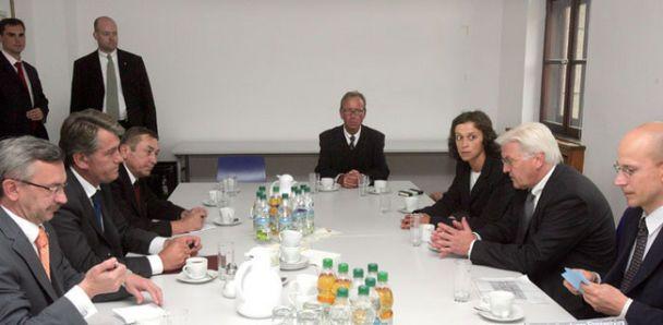 Ющенко відвідав Німеччину