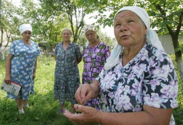 Місцеві мешканці Ожидова