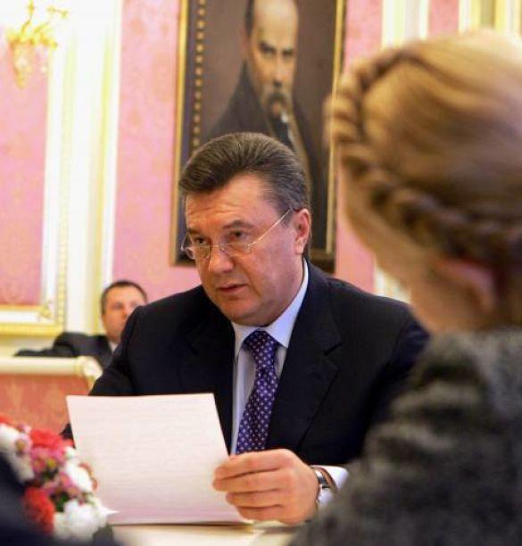 Тимошенко Янукович