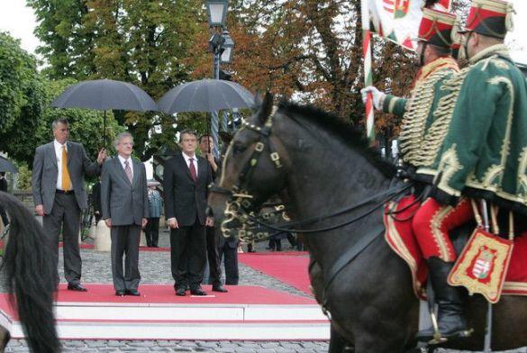 Віктор Ющенко в Угорщині