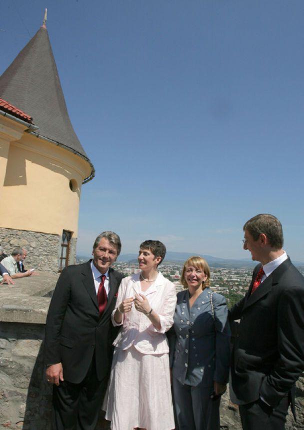 Ющенко зустрівся з прем'єром Угорщини