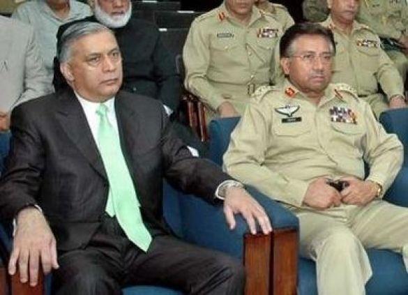 Первез Мушарраф, президент Пакистану, та Шаукат Азиз, прем'єр Пакистану