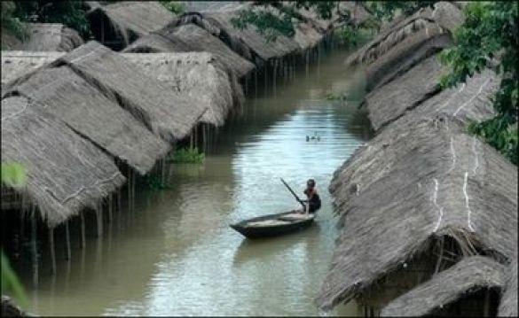 Повінь на півночі Індії