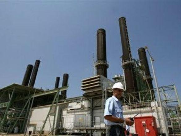 Електростанція в секторі Газа