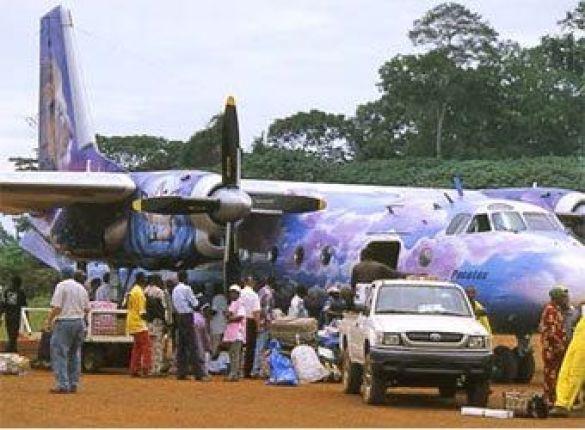 У Конго розбився літак