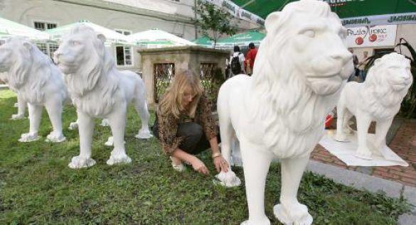Льви у Львові