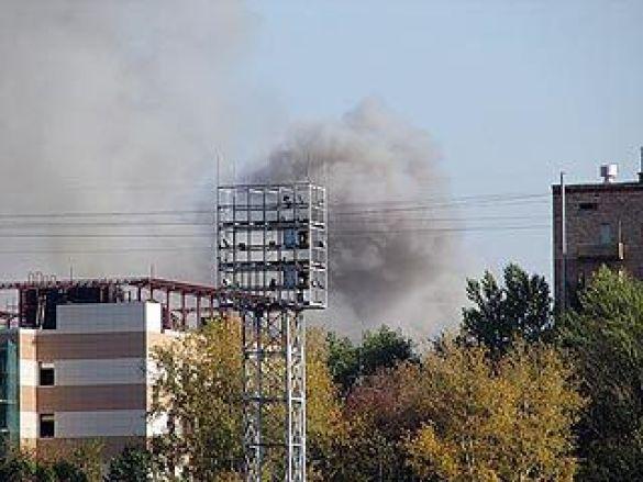 Пожежа в інституті державного і корпоративного управління в Москві