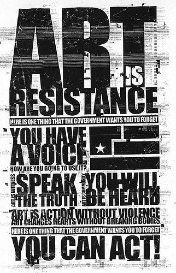 Мистецтво - це спротив