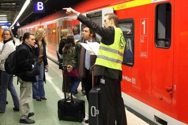 Німецьку залізницю паралізував страйк