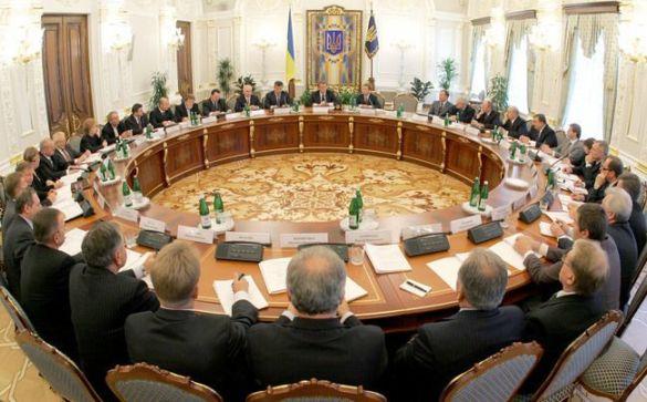 Засідання Нацкомісії у президента