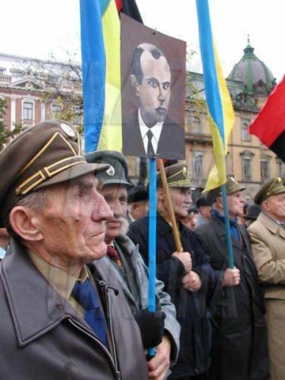 Бійці Української повстанської армії у Львові