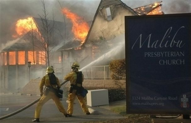 Пожежа в Малібу